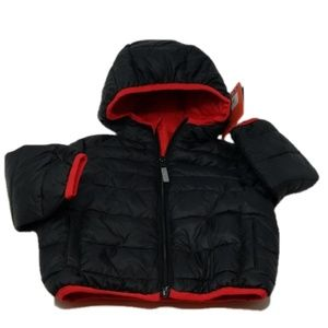 Baby Boy Quilted Jacket, 12M, Hawke and Co